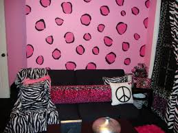 Color Ideas For Teenage Girl Room Cool Design Study Two Cute Patterned Rugs Colorful Paisley Pattern White Gray Wall Paint Colors Glass Hung