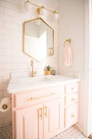 Modern Glam Blush Girls Bathroom Design Girl Bathrooms Glass ... 50 Lovely Girls Bathroom Ideas Hoomdesign Chandelier Cute Designs Boys Teenage Girl Children Llama Wallpaper By Jennifer Allwood _ Accsories Jerusalem House Cool Bedroom For The New Way Home Decor Several Retro Stylish White And Pink A Golden Inspired Palm Print And Vintage Decorating 1000 About Luxury Archauteonluscom Really Bathrooms Awesome Tumblr