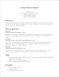Skills Cashier Resume Description On Customer Service Experienced