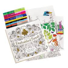 Inky Quest Coloring Books