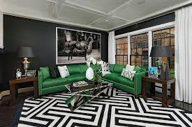 View In Gallery Hollywood Regency Combined With Contemporary Chic Inside The Smart Living Room Design OPaL