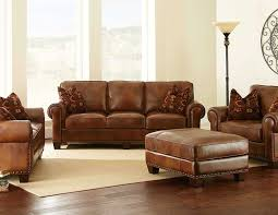 Brown Leather Sofa Living Room Ideas by Furniture Nice Leather Wingback Chair For Modern Family Room
