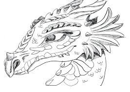 Evil Dragon Coloring Pages For Adults Printable Color Tales Baby Difficult Large Size