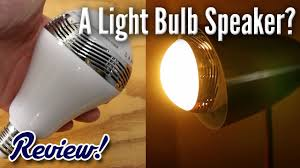 bluetooth speaker light bulb does it actually work
