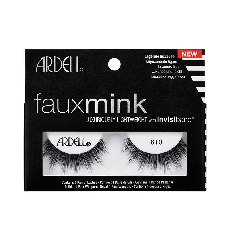 Ardell Faux Mink Eyelashes - 810 Black