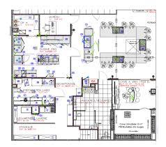 plan cuisine professionnelle maison design bahbe