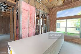 Hanging Drywall On Ceiling by Drywall Stock Photos And Pictures Getty Images