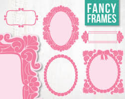 Border Frame Fancy SALE Frames Borders Digital Clipart For Scrapbooking And Crafting Instant Download