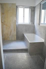 das fugenlose badezimmer terrazzoboden hess herstellung