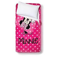Minnie Mouse Twin Bedding by Minnie Mouse Zippy Sack Twin Bedding Bed Blanket Zipper Set Ebay