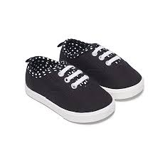 Infant Girls Canvas Casual Shoe