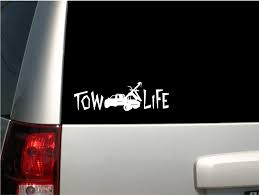 100 The Life Of A Truck Driver Mazoncom 6 White Tow Decal Tow Pride