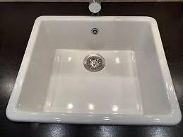 ikea domsjö keramik einbauspüle spülbecken küchenspüle