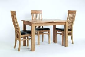 Dining Table Elegant Oak Small Extending Furniture With Sets And Chairs Ebay