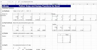 Excel Ceiling Function Vba by Numpy And Scipy For Excel Newton Excel Bach Not Just An Excel