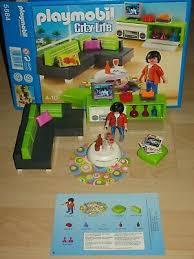 playmobil 5584 modernes wohnzimmer neuware zu 5574 9266