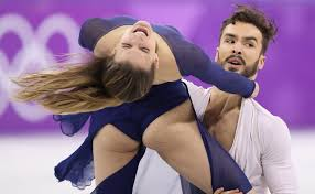 French Ice Skater Gabriella Papadakis Suffers Another Wardrobe Malfunction At Winter Olympics