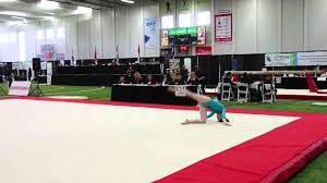 isabela onyshko floor final 2015 canadian gymnastics
