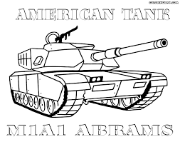 The Tank Coloring Pages To And Print