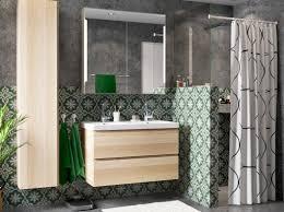 Ikea Bathroom Planner Australia by Ein Badezimmer Mit Godmorgon Waschbeckenschrank Mit 2 Schubladen