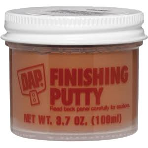 Dap 21255 Finishing Putty - 3.7oz, Dark Walnut