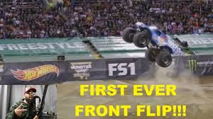 First Ever MONSTER Truck FRONT FLIP!!!!!!!!! - YouTube Lee Odonnell Claims Mjwf Xviii Freestyle Title Monster Jam This Historic Truck Front Flip Will Astonish You Back Fail Hdgood Quality Youtube Play To Jumps Online And Free Trucks For Ring Power Machines Sandys2cents Oakland Ca Oco Coliseum 21817 Review World Champion Tom Meents To Attempt A Neverbeforedone Lot 2 Hot Wheels Monster Front Flip Takedown Track Set 5 Does Successful 96x Rock St George History Has Been Made With These Was Just At A Monster Show Grave Digger Failed