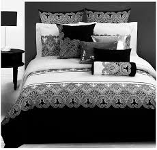 3d bedding sets Classical black white Retro paisley bedding set