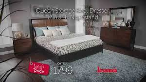jerome s furniture kateri bedroom collection youtube