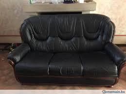 vend canapé 3 places a vendre 2ememain be