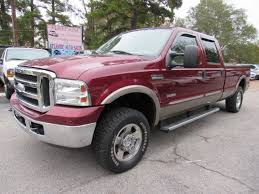 100 Atlantic Truck Sales 2006 Ford F250 Super Duty Crew Cab Lariat Pickup 4D 8 Ft V8 Turbo