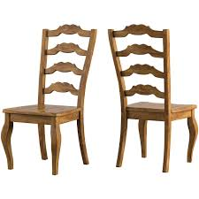 Weston Home Farmhouse Dining Chair With French Ladder Back (Set Of 2 ... Guy Chaddock Melrose Custom Handmade Fniture Cf0485s Country French Ding Chairs With Ladder Back And Rush Seats Antique Farm Carved Tall Seat Room Set Of 6 Provincial In Walnut 10 Louis Xv Style Oak Leather Nailhead Recliner Chair Vintage White Of Four Six Xiv Ladderback Scalloped Stretchers Inspire Q Eleanor Wood 2 By Dec 16 2018