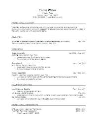 Vet Tech Resumes Resume Summary Examples Assistant Simple Veterinary Technician Sample 6 Of