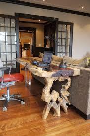 bureau console bois console ou bureau en bois exotique tamarin live edge tamarin