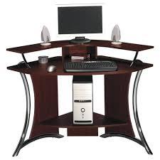 Small White Corner Computer Desk Uk by Computer Desks Pine Computer Desk Argos Corona Corner