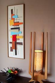 Peaceful Design Mid Century Modern Wall Decor Art Interest Home