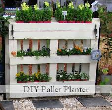Diy Pallet Planter Gardening How To Repurposing Upcycling