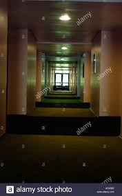 architecture corridor hallway lights walls carpet