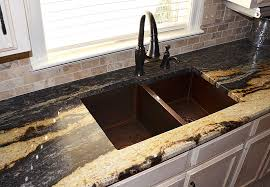 hammered copper kitchen sinks copper kitchen sinks as your
