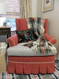 Home Decor | The Slipcover Maker Sure Fit Stretch Stripe Wing Chair Slipcover Walmartcom Fniture Armless For Room With Unique Striped Wingback Beachy Blue White Surefit Sage Double Diamond Slipcovers Navy Parsons Used Moving Piqu One Piece Form Machine Washable Shop Ticking Free Indoor Chairs Covers Maytex Pixel 1 Back Arm Complete Your Collection Custom By Shelley Wingback Chair