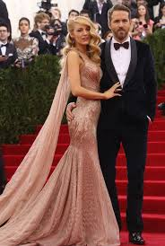 Evening Dresses Red Carpet by Online Shop Blake Lively 2014 Met Gala Evening Dress Red Carpet