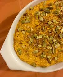 Pumpkin Hummus Recipe by Pumpkin Cheesecake With Marshmallow Sour Cream Topping