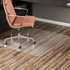 Rug Pads For Hardwood Floors Amazon by Amazon Com Deflecto Economat Clear Chair Mat Hard Floor Use