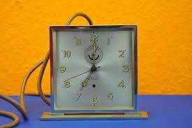 100 Mauthe Synchron Dolektra Table Clock Art Deco 1935