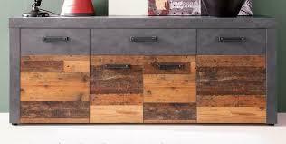 sideboard wood design grau wohnzimmer kommode esszimmer