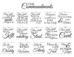 Interest Free Printable Ten Commandments Coloring Pages