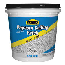 Can You Dry Scrape Popcorn Ceiling by Homax 1 Qt Premixed Popcorn Patch 85424 The Home Depot