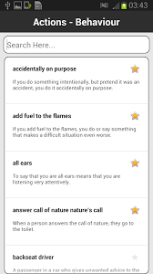 Idioms & Phrases Dictionary Android Apps on Google Play