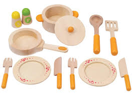buy hape e3103 gourmet kitchen starter wooden play food set