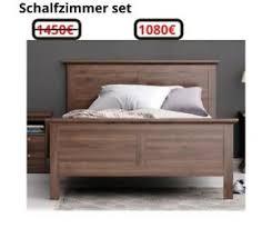 details zu schlafzimmer komplett set bett 140x200 cm kleiderschrank nachttisch eiche 41556