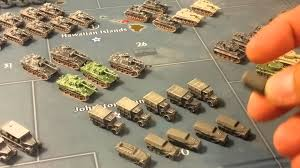 Painted German Army Miniatures Axis Allies Game